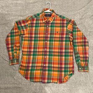Mens Ralph Lauren long sleeve button up shirt